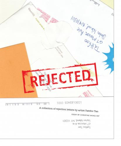 Book | Rejected by Tattfoo Tan | McNally Jackson Books